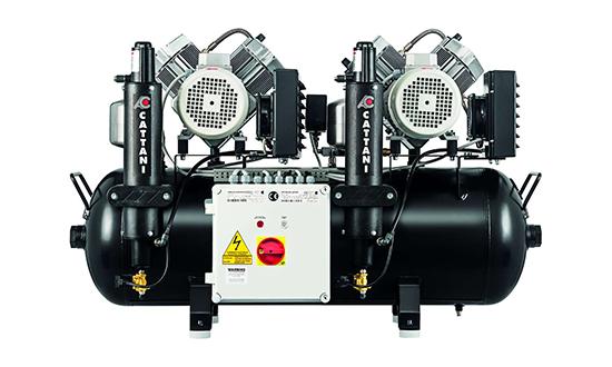 Cattani Compressor 1 - A&E Dental Engineering